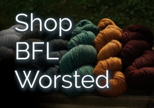 Shop all colours of worsted British BFL